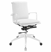 Sage Mid Back Office Chair, White [FREE SHIPPING]