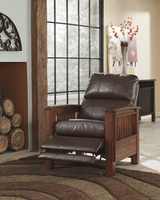 Ashley Furniture High Leg Recliner, Bark