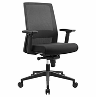 Shift Fabric Office Chair, Black [FREE SHIPPING]