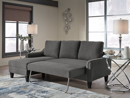 Ashley Furniture Sofa Chaise Sleeper, Gray