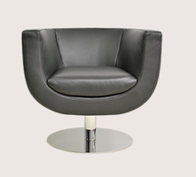 Soho Concept - Alicia Fabric Leather Chair Swivel