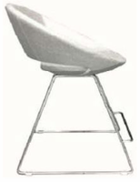 Soho Concept - Crescent Wire Counter Chair