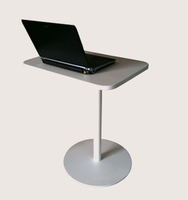 Soho Concept - Harvard White Lacquer End Table