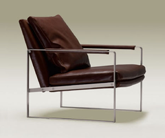 Soho Concept - Zara Chair with Leather Cushion