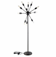 Spectrum Floor Lamp, Black [FREE SHIPPING]