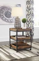 Ashley Express Furniture Square End Table, Two-tone