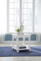 Ashley Express Furniture Square End Table, White