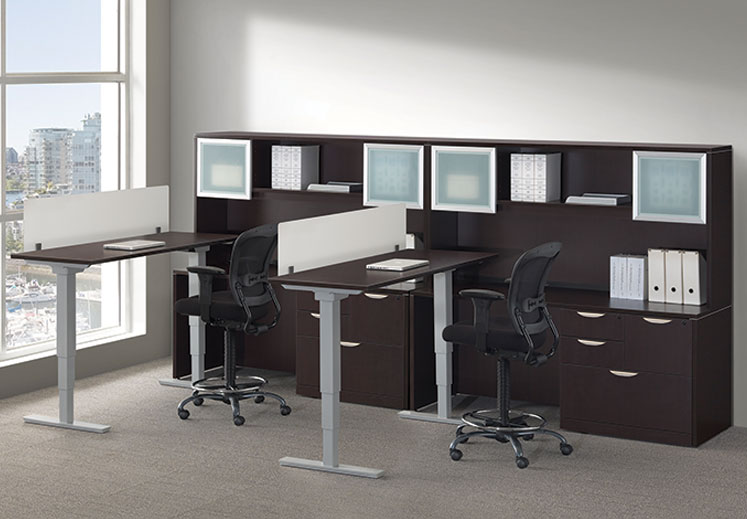 Home office standing desk Office Space Furniture Stand Up Desks By Office Source Coe Furniture
