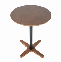 Standing Table, Chestnut Finish Color Matches Recliner Base