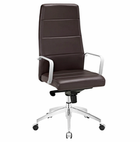 Stride Highback Office Chair, Brown [FREE SHIPPING]