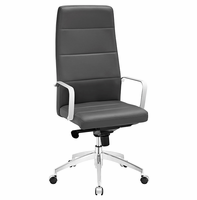 Stride Highback Office Chair, Gray [FREE SHIPPING]
