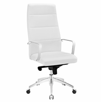 Stride Highback Office Chair, White [FREE SHIPPING]