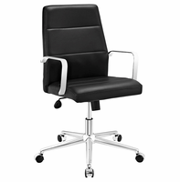 Stride Mid Back Office Chair, Black [FREE SHIPPING]