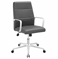 Stride Mid Back Office Chair, Gray [FREE SHIPPING]