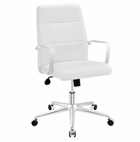 Stride Mid Back Office Chair, White [FREE SHIPPING]