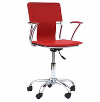 Studio Office Chair, Red [FREE SHIPPING]