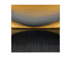 """Sunpan In The Distance - 48"""" X 48"""" - Gallery Wrapped"""