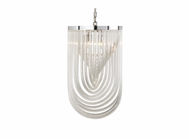Sunpan Kepler - Chandelier - Large - Clear Glass