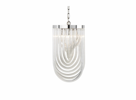 Sunpan Kepler - Chandelier - Small - Clear Glass