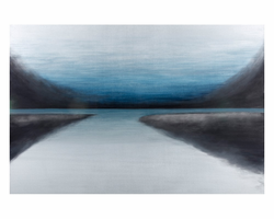 """Sunpan Mountain Clearing - 40"""" X 60"""" - Gallery Wrapped"""
