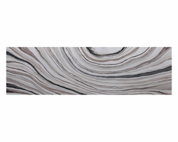 """Sunpan White Marble - 22"""" X 72""""- Gallery Wrapped"""