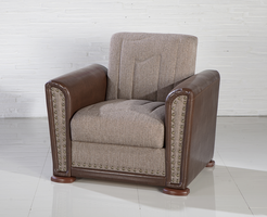 Istikbal Furniture Alfa Armchair (Redeyef Brown)