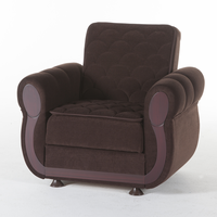 Istikbal Furniture Argos Armchair (Colins Brown)