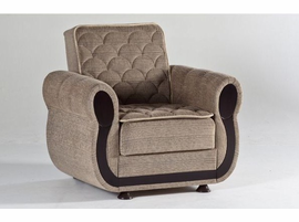 Istikbal Furniture Argos Armchair (Zilkade L Brown)