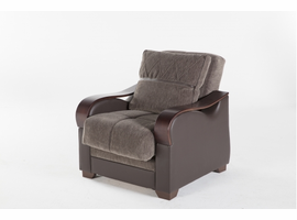 Istikbal Furniture Bennett Armchair (Armoni Brown)