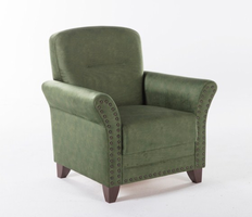 Istikbal Furniture Brady Armchair (Samba Green) W/Memory Foam