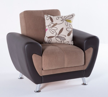 Istikbal Furniture Duru Armchair (Optimum Brown)