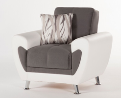 Istikbal Furniture Duru Armchair Plato Dark Gray)