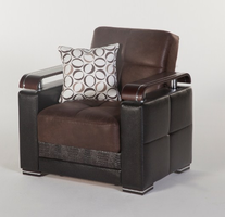 Istikbal Furniture Ekol Armchair (Chocolate)