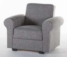 Istikbal Furniture Elita S Relax Armchair (Diego Gray)