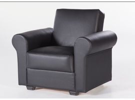 Istikbal Furniture Floris Relax Armchair (Santa Glory Black) -pu