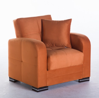 Istikbal Furniture Kubo Armchair (Rainbow Orange)