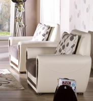 Istikbal Furniture Marina Armchair (Armoni Brown)