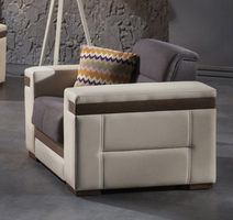 Istikbal Furniture Moon Armchair (Zigana Gray)