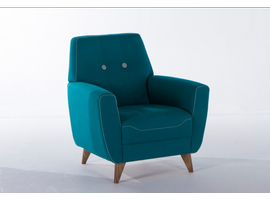 Istikbal Furniture Nora Armchair (Zigana Turkuaz)