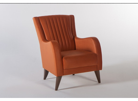 Istikbal Furniture Piero Armchair (Hande Orange)