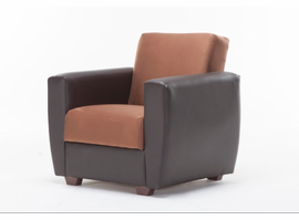 Istikbal Furniture Power Armchair (Rainbow Brown)