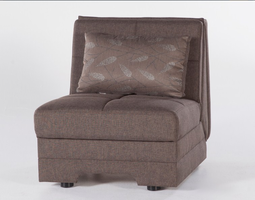 Istikbal Furniture Twist Chair Sleeper (Astoral L. Brown)