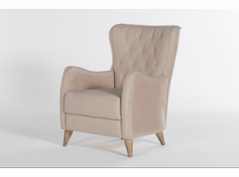 Istikbal Furniture Vienza Armchair (Lilyum Cream)