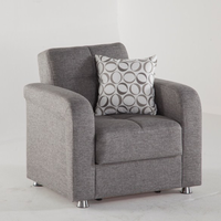 Istikbal Furniture Vision Armchair (Diego Gray)