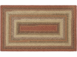 Surya Rugs Cottage Braids Collection Area Rug (Free Delivery)