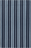 Surya Rugs Farmhouse Stripes Collection Area Rug (Free Delivery)