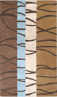Surya Rugs Mosaic Collection Area Rug (Free Delivery)