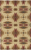 Surya Rugs Santa Fe Collection Area Rug (Free Delivery)