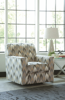 Ashley Furniture Swivel Accent Chair, Charcoal