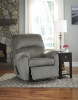 Ashley Furniture Swivel Glider Recliner, Alloy